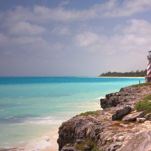 Lighthouse on Grand Bahama Island